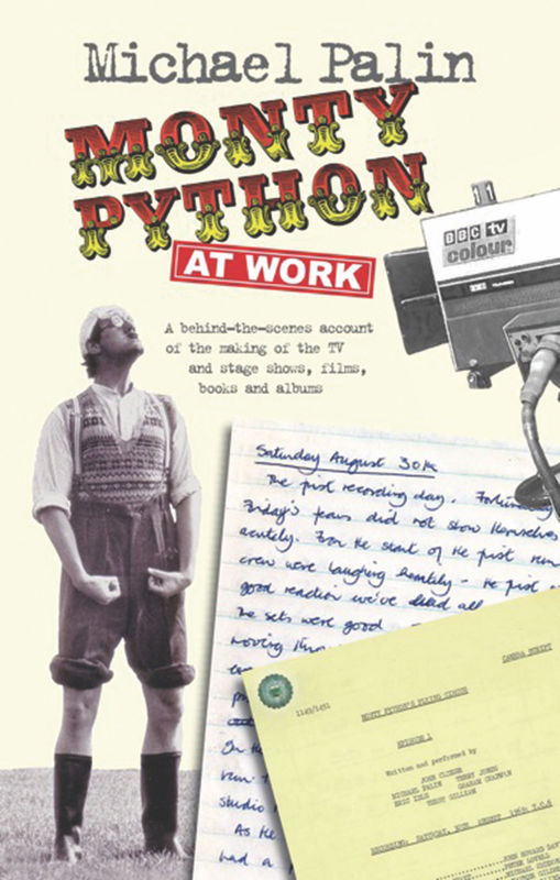 Jacket image for the title 'Monty Python at work'