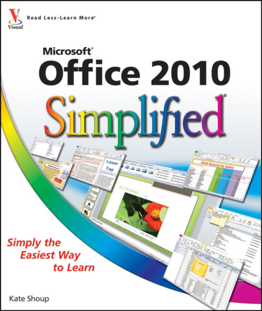 Jacket image for the title 'Office 2010 simplified