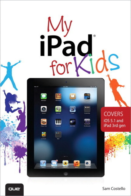 Jacket image for the title 'My iPad for kids