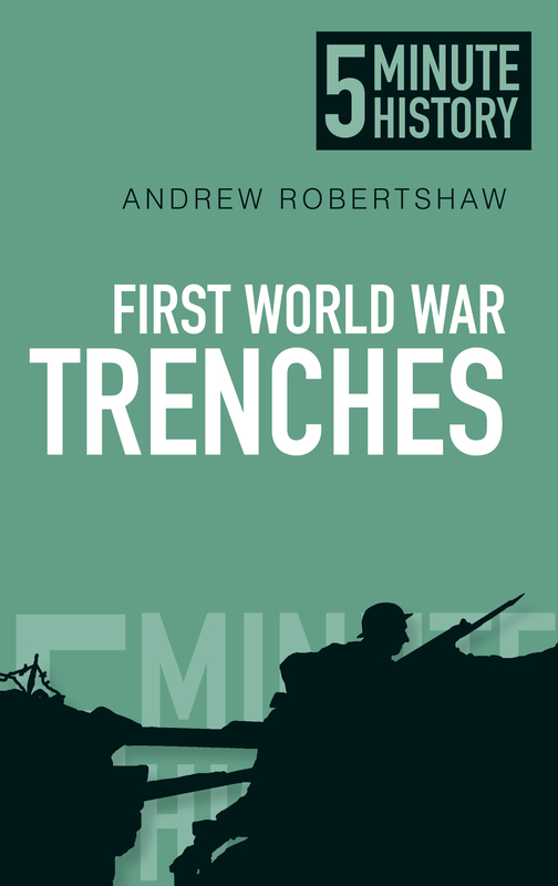 Jacket image for the title 'First World War trenches