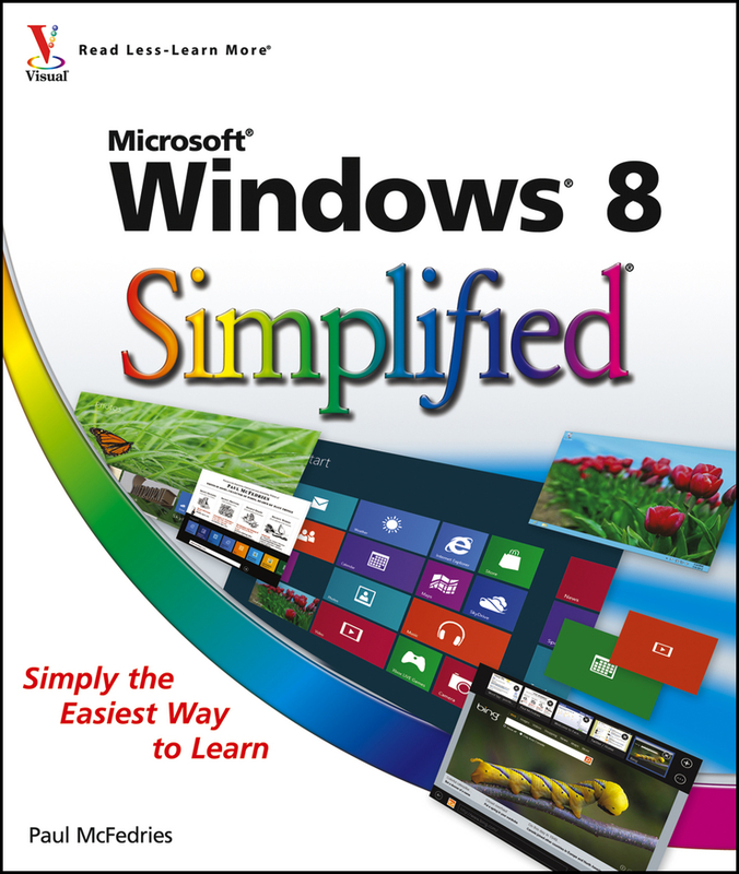 Jacket image for the title 'Windows 8 simplified