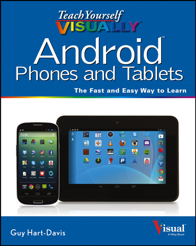 Jacket image for the title 'Teach yourself visually Android phones and tablets