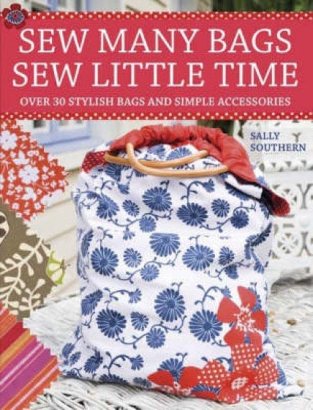 Jacket image for the title 'Sew many bags, sew little time'