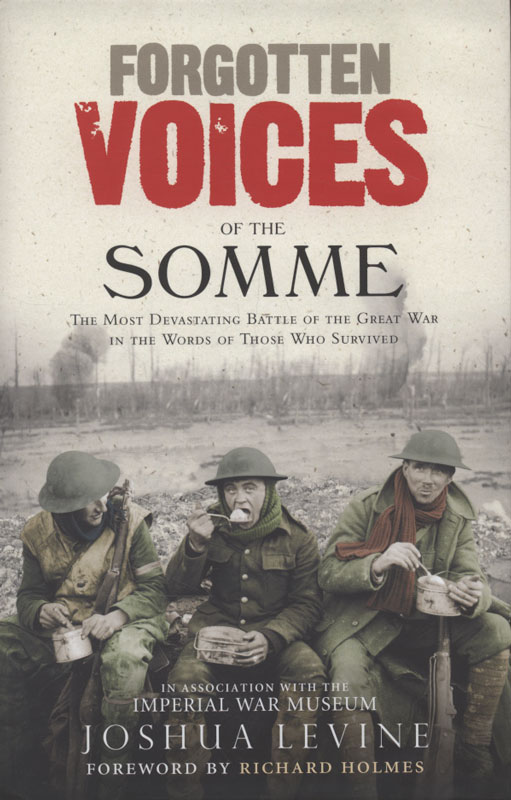 Jacket image for the title 'Forgotten voices of the Somme
