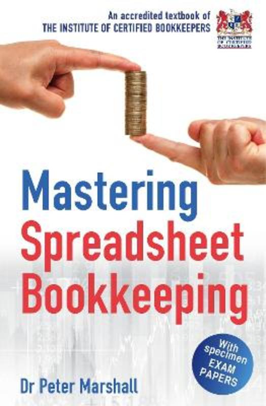 Jacket image for the title 'Mastering book-keeping using spreadsheets