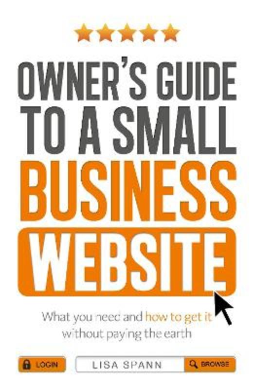 Jacket image for the title 'Owner's Guide to a Small Business Website