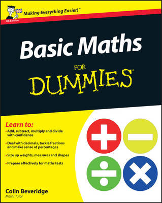 Jacket image for the title 'Basic maths for dummies