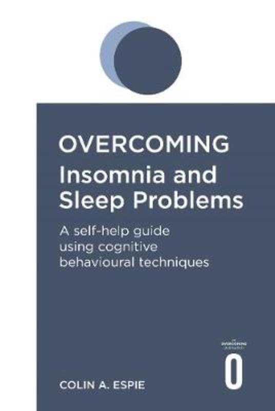 Jacket image for the title 'Overcoming insomnia and sleep problems