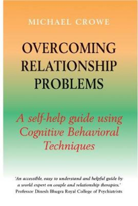 Jacket image for the title 'Overcoming relationship problems