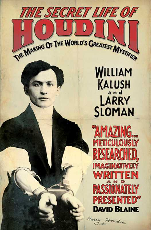 Jacket image for the title 'The secret life of Houdini'