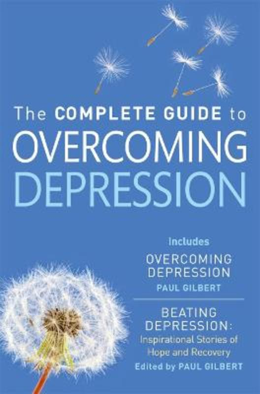 Jacket image for the title 'The complete guide to overcoming depression'