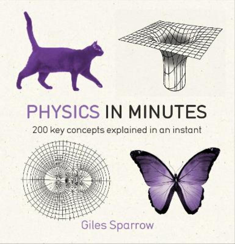 Jacket image for the title 'Physics in minutes