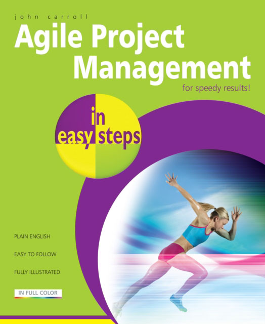 Jacket image for the title 'Agile project management in easy steps'