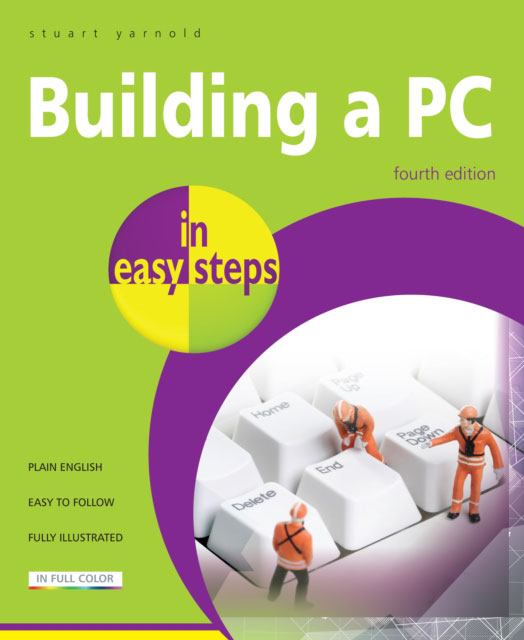 Jacket image for the title 'Building a PC in easy steps, 4th edition'