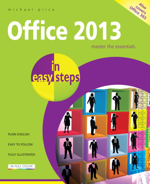 Jacket image for the title 'Office 2013 in easy steps'