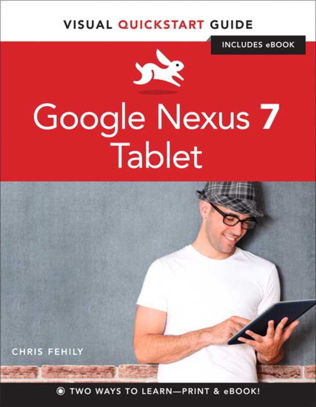 Jacket image for the title 'Google Nexus 7 tablet