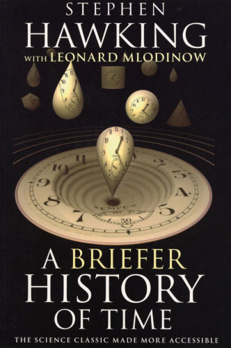 Jacket image for the title 'A briefer history of time