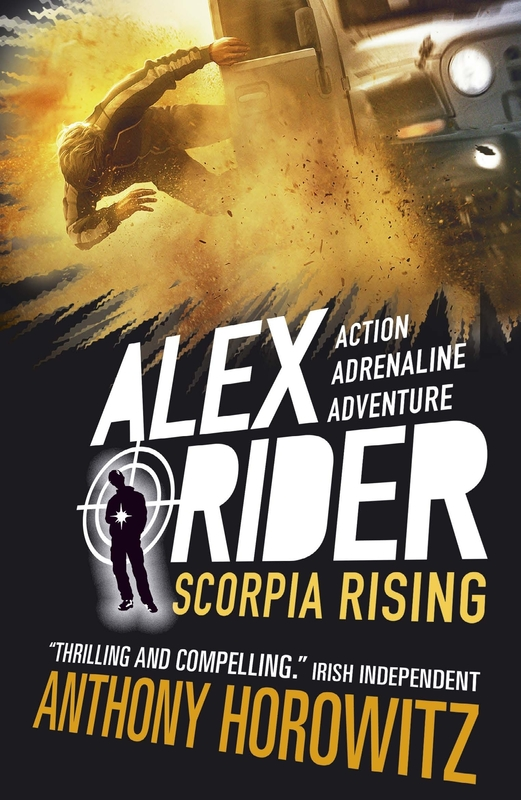 Jacket image for the title 'Scorpia rising'