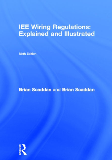 Jacket image for the title '17th edition IEE wiring regulations