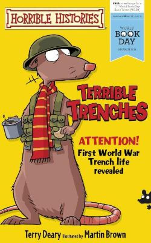 Jacket image for the title 'Terrible trenches