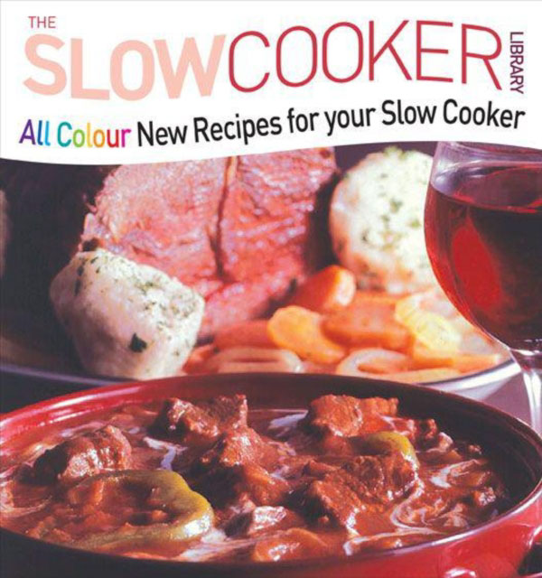 Jacket image for the title 'All colour new recipes for your slow cooker'