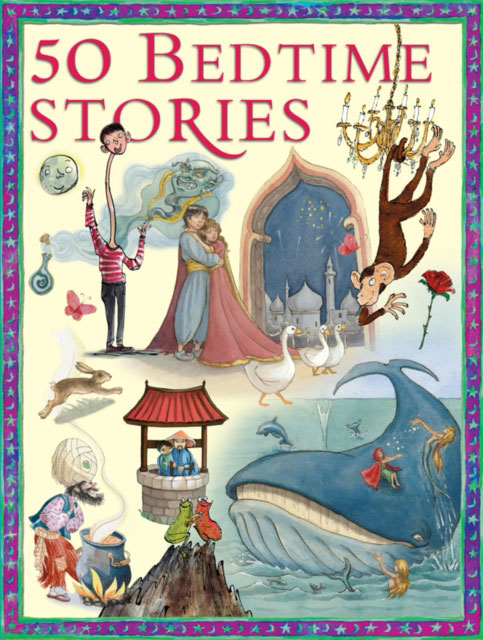 Jacket image for the title '50 bedtime stories.'