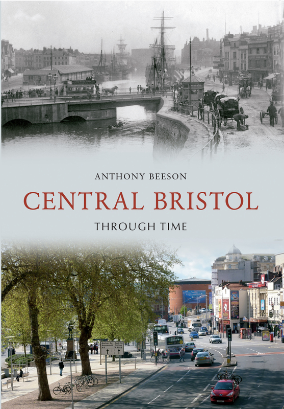 Jacket image for the title 'Central Bristol through time