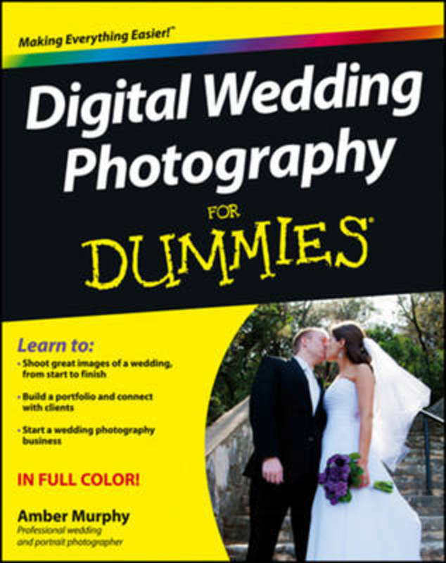 Jacket image for the title 'Digital wedding photography for dummies