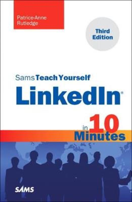 Jacket image for the title 'Sams teach yourself LinkedIn in 10 minutes
