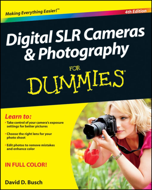Jacket image for the title 'Digital SLR cameras & photography for dummies