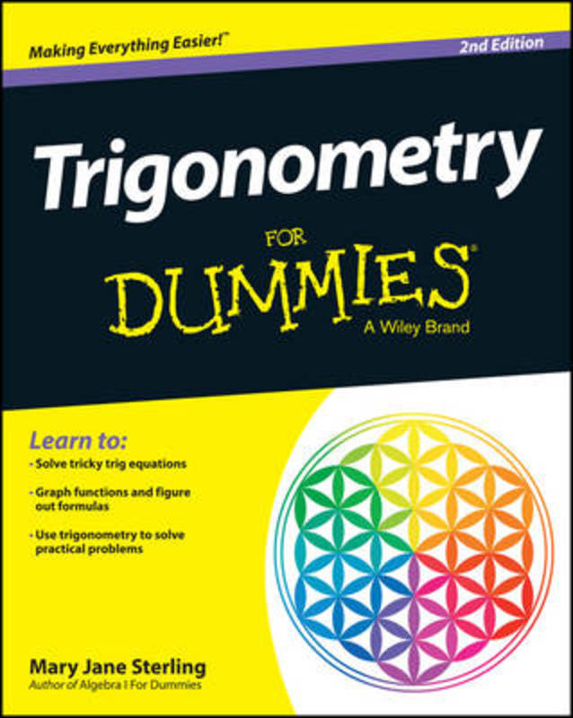 Jacket image for the title 'Trigonometry for dummies