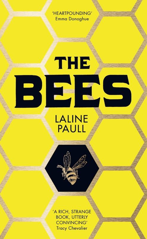 Jacket image for the title 'The bees'