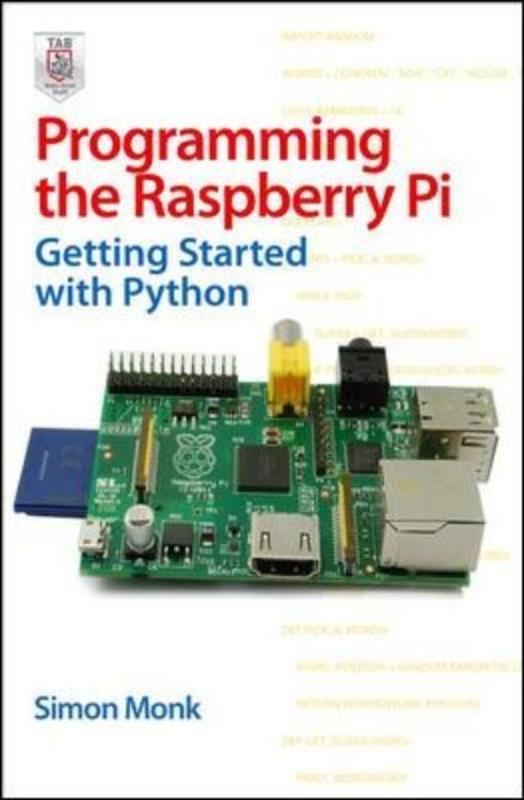 Jacket image for the title 'Programming the Raspberry Pi'