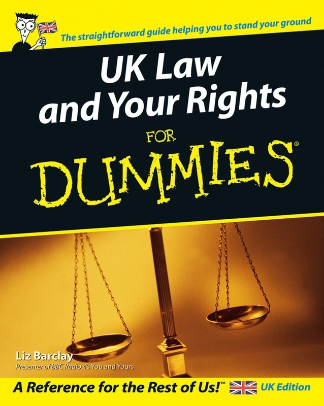 Jacket image for the title 'UK law and your rights for dummies'