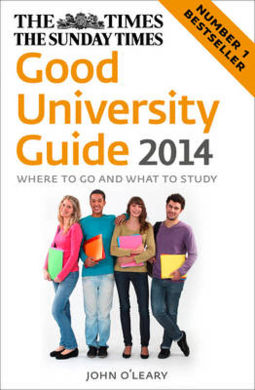 Jacket image for the title 'The Times good university guide 2014