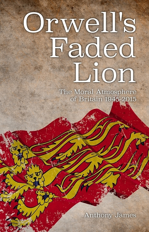Jacket image for the title 'Orwell's Faded Lion'