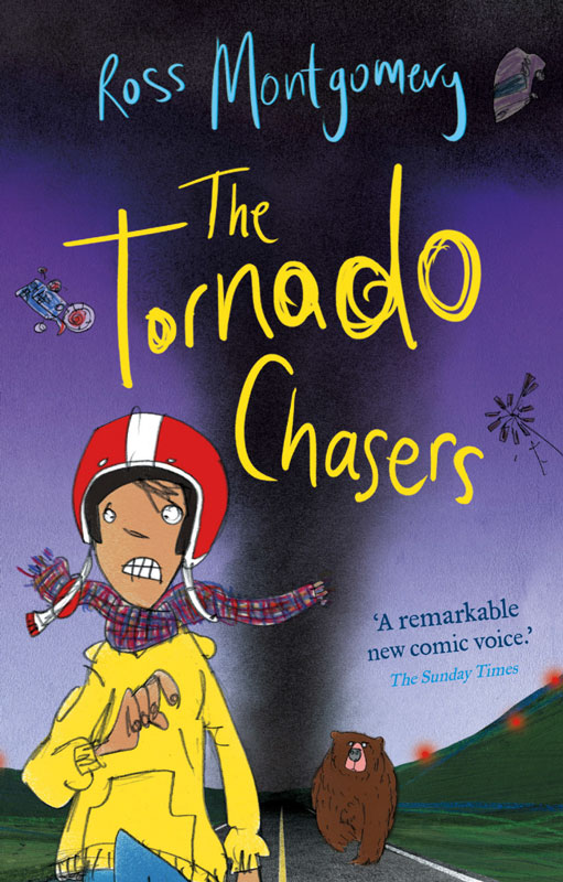 Jacket image for the title 'The Tornado Chasers'