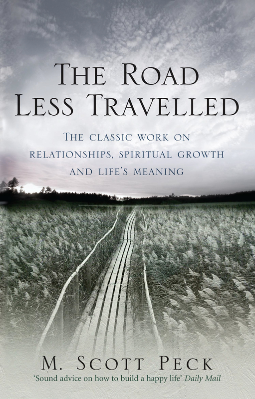 Jacket image for the title 'The road less travelled