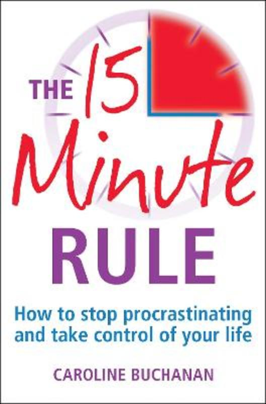 Jacket image for the title 'The 15 minute rule