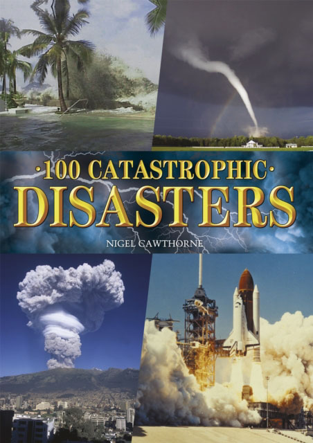 Jacket image for the title '100 Catastrophic Disasters