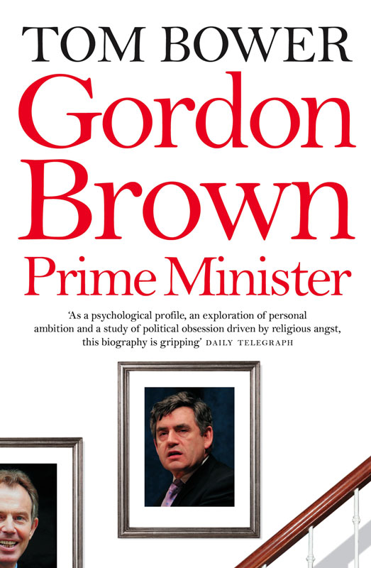 Jacket image for the title 'Gordon Brown, Prime Minister