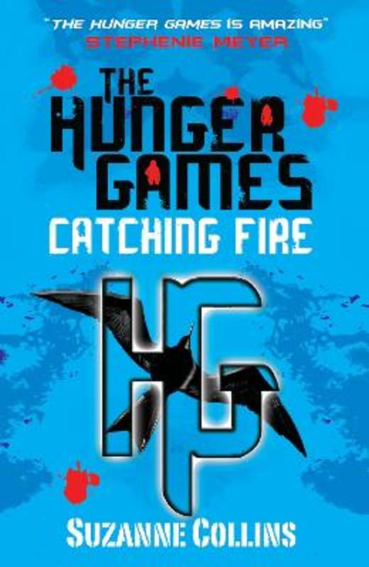 Jacket image for the title 'Catching fire