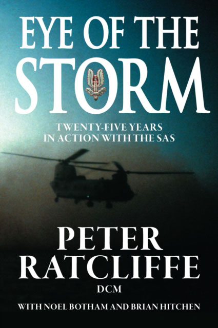 Jacket image for the title 'Eye of the storm'