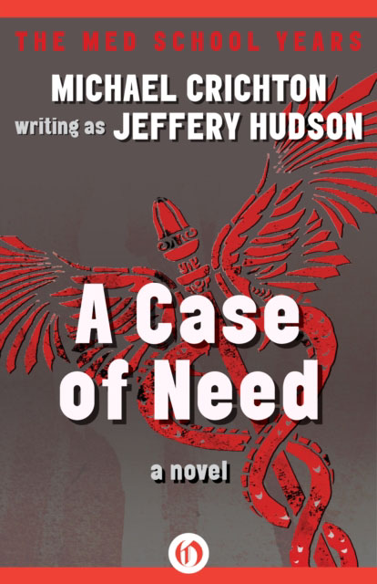 Jacket image for the title 'A Case of Need'