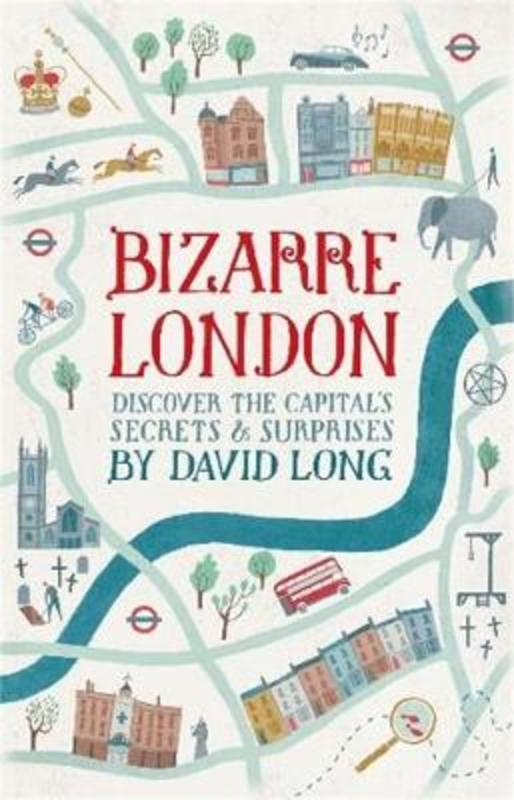 Jacket image for the title 'Bizarre London