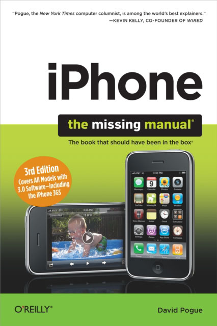 Jacket image for the title 'iPhone
