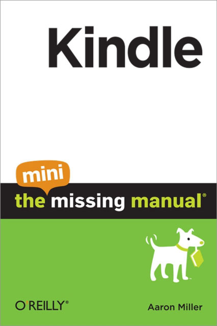Jacket image for the title 'Kindle: The Mini Missing Manual