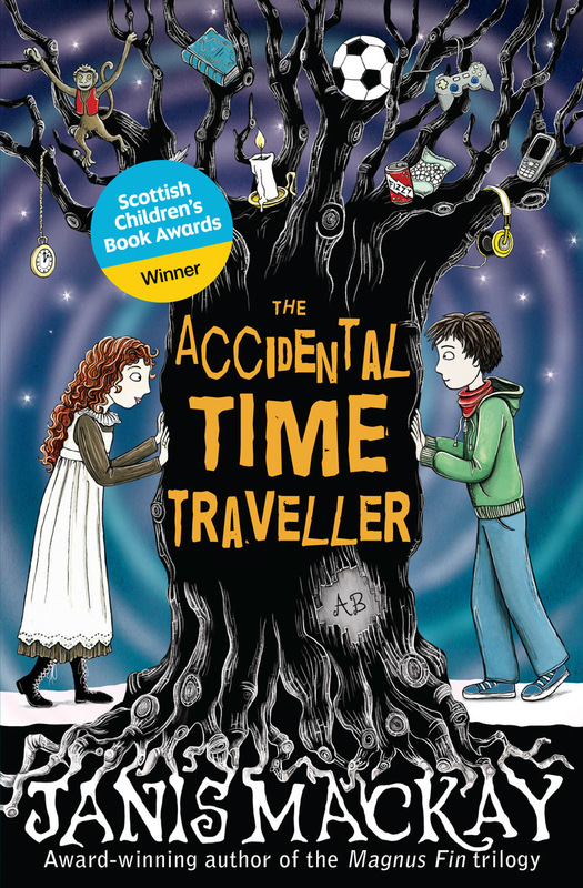 Jacket image for the title 'The accidental time traveller'