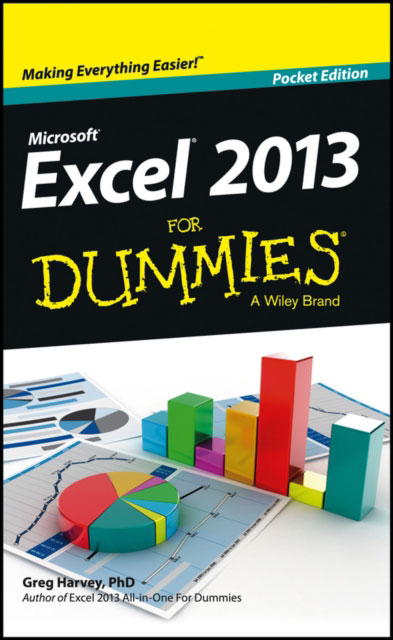 Jacket image for the title 'Excel 2013 for dummies